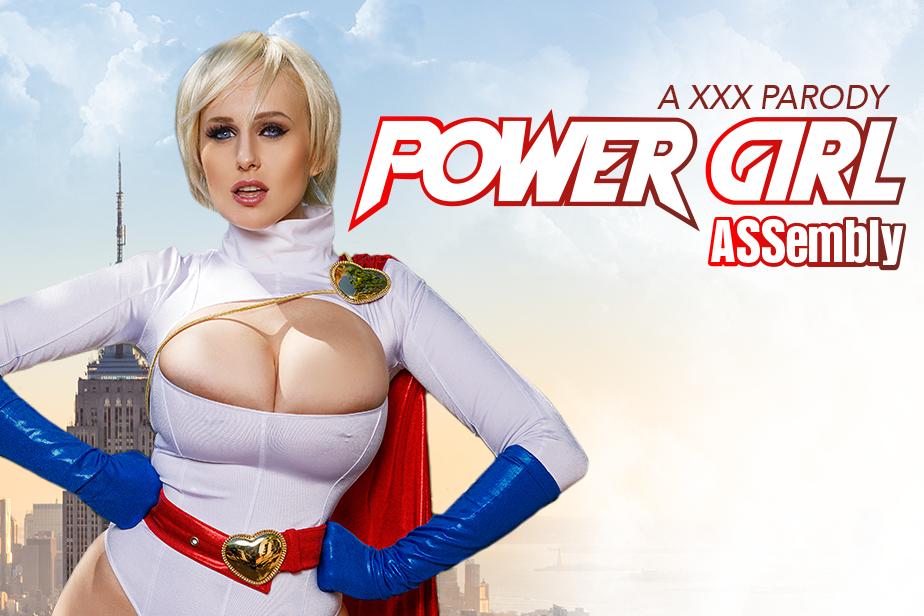 Power girl cosplay nude