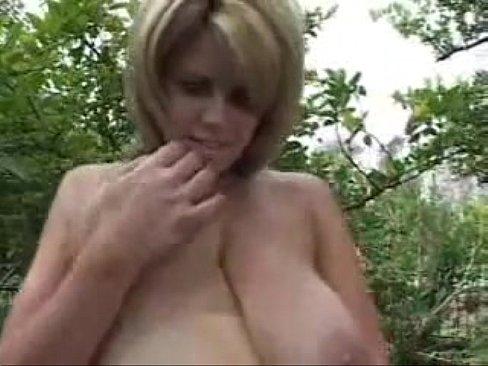 Saggy natural tits mature big