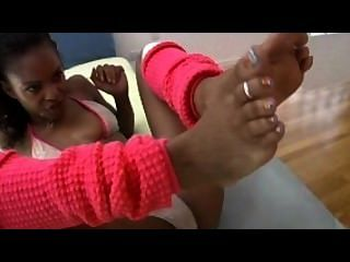 Marie luv bare feet sex