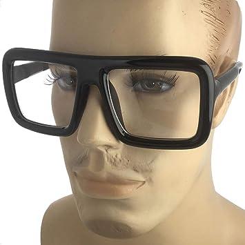 Big thick black glasses