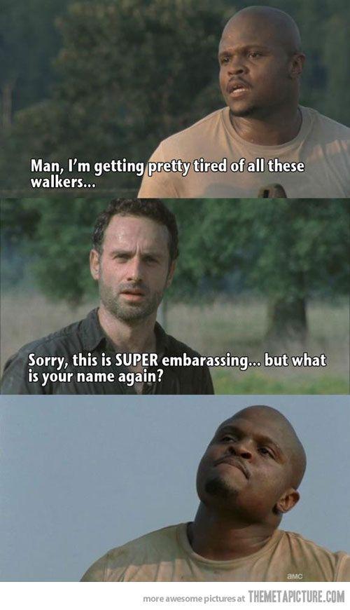 The walking dead funnies