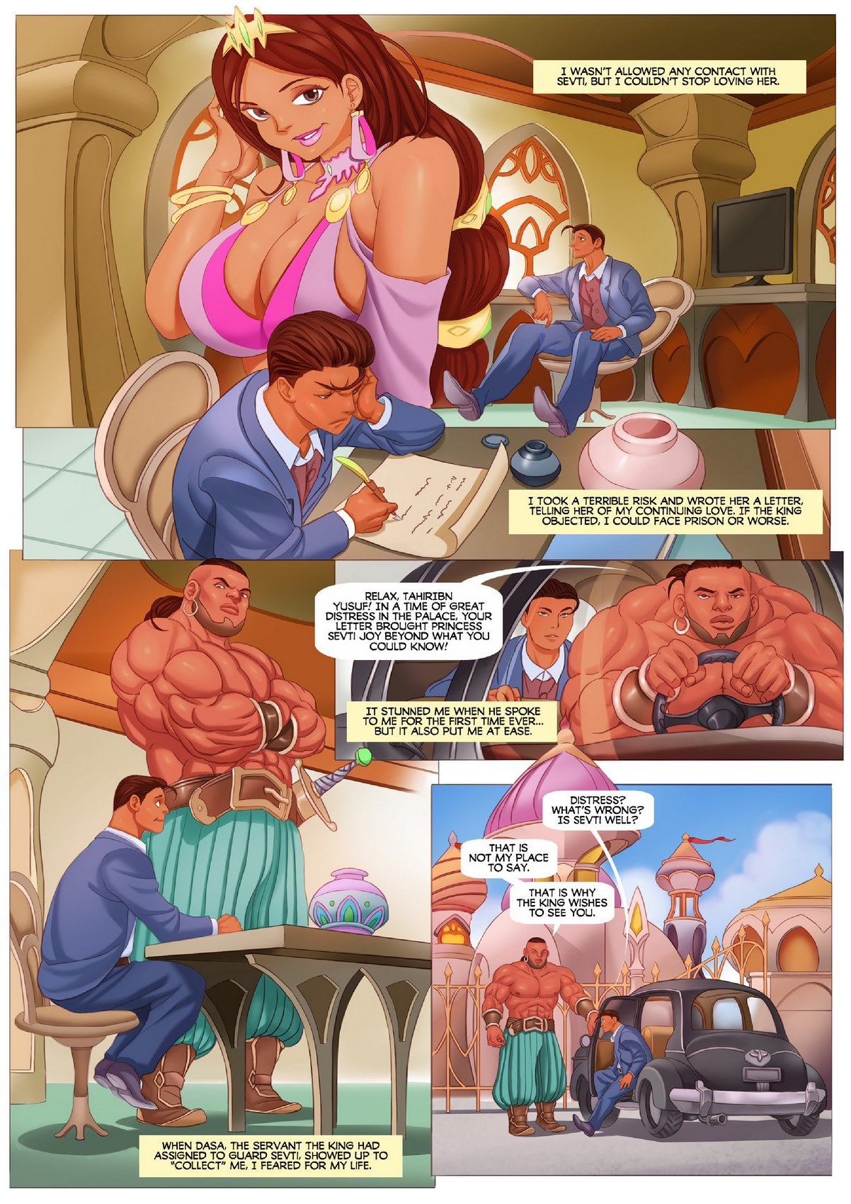 Giantess porn butt comics