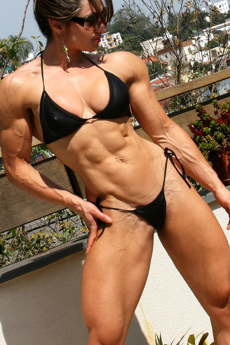 Muscle fitness women naked