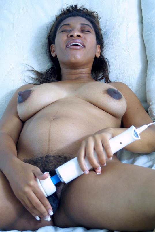 Nude big boob black pregnant