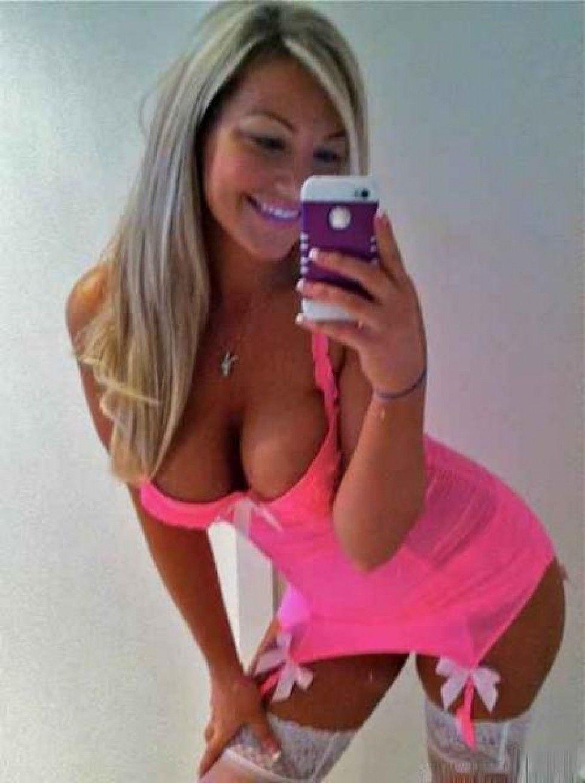 Sexy blonde teen busty