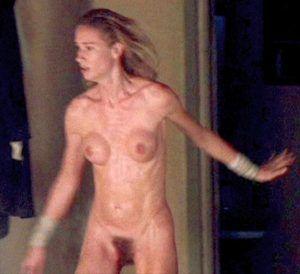 Christian bale american psycho nude