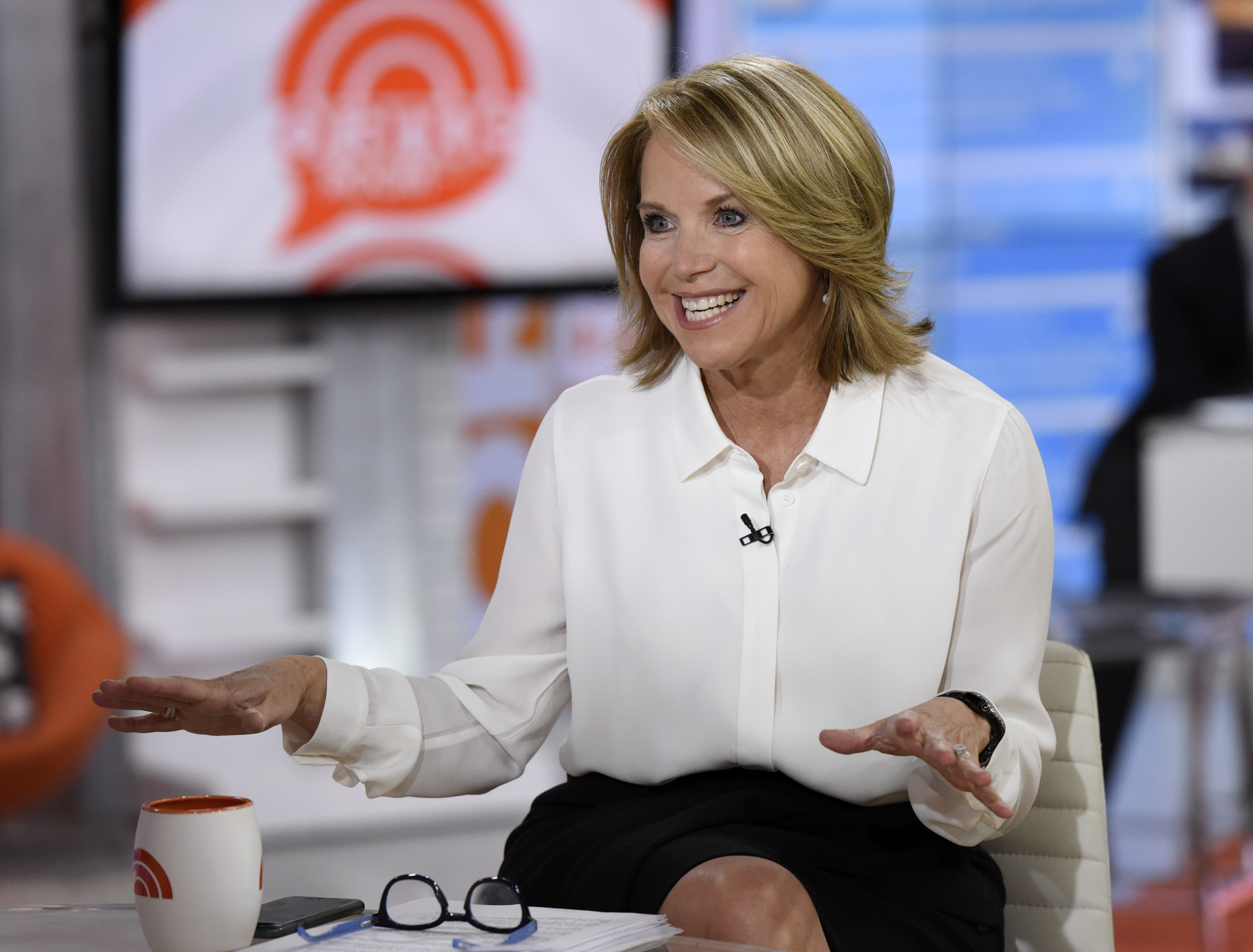 Katie couric today show