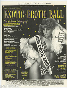 Annual exotic erotic ball