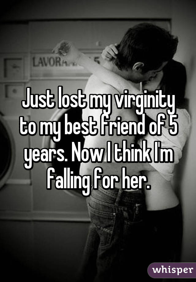 Losing virginity with a friend
