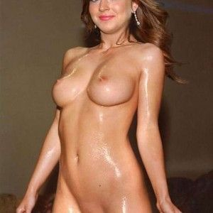 Russian big tits shaved pussy