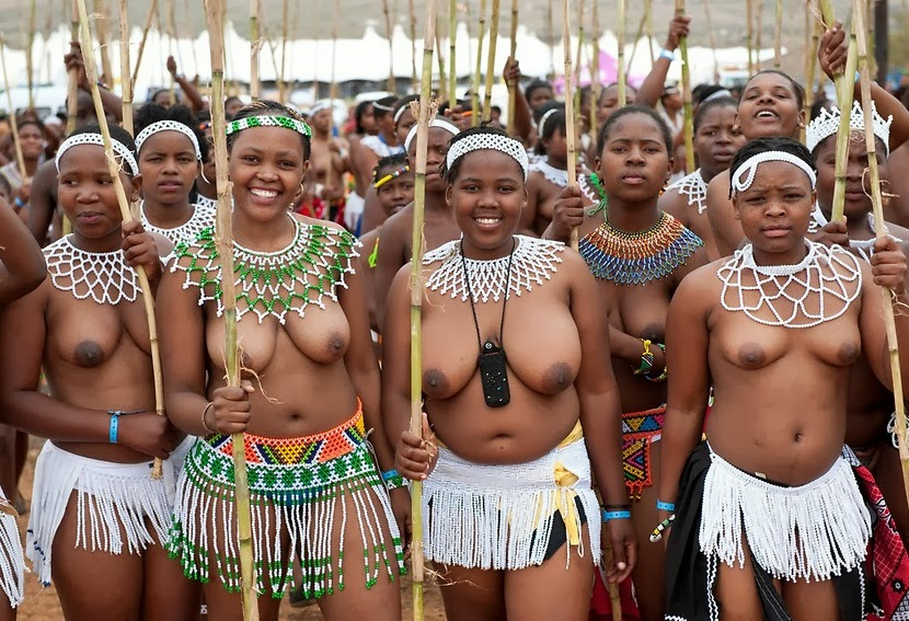 African traditional naked dances