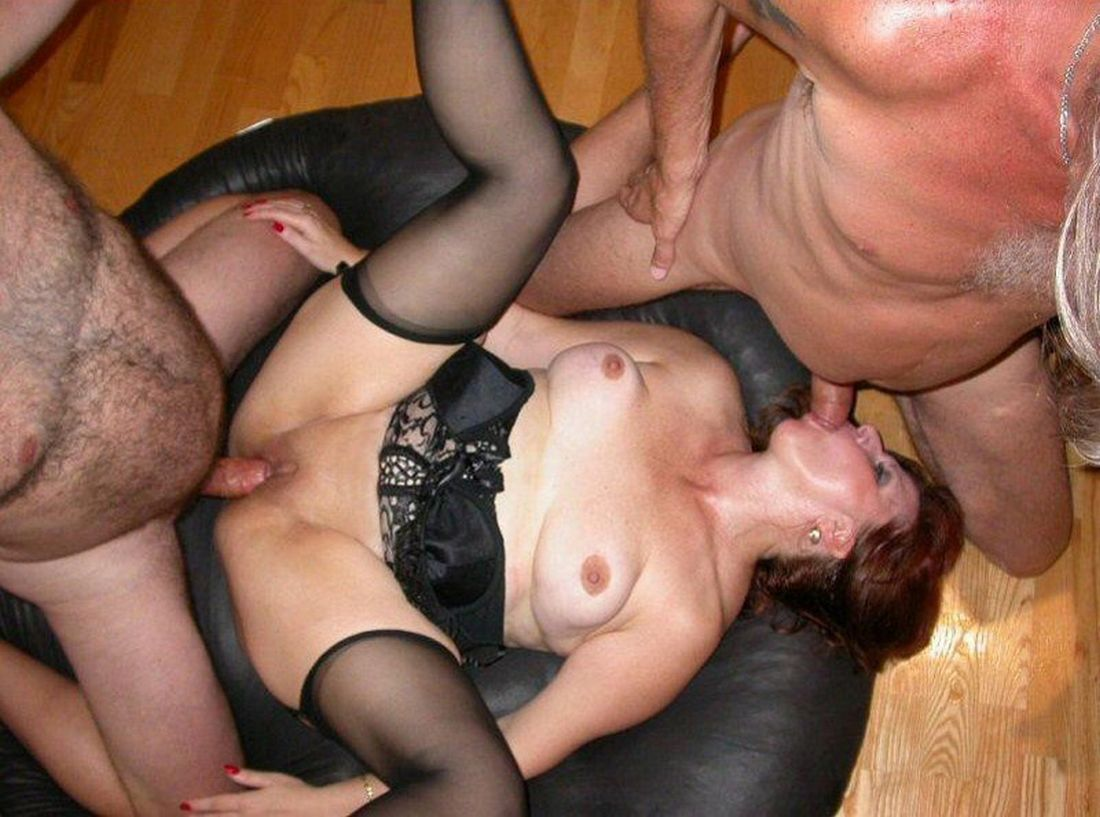 Real swinger wife creampie