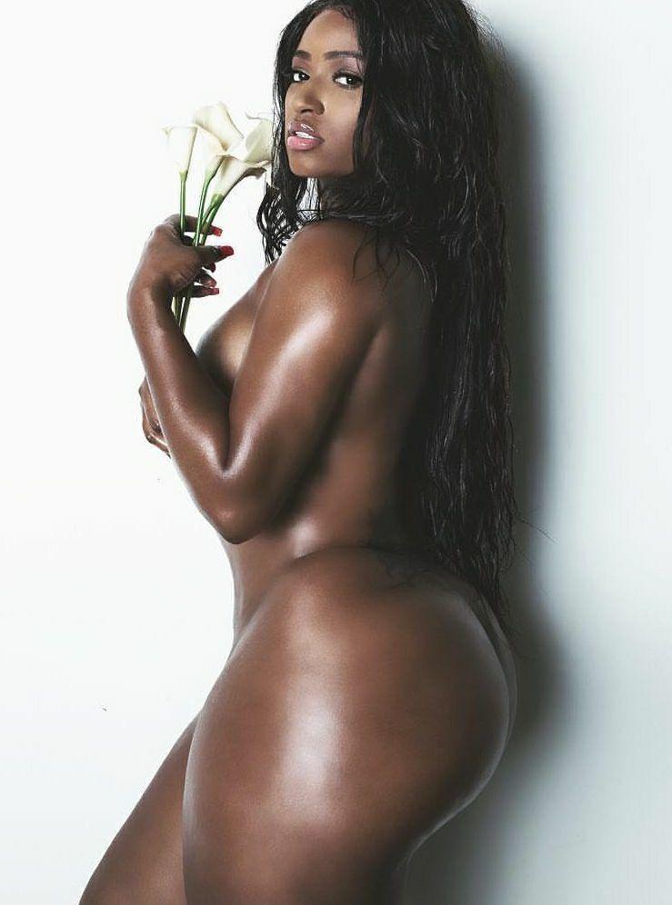Ebony nude model sex