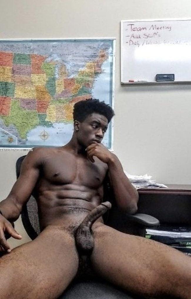 Hot black men naked