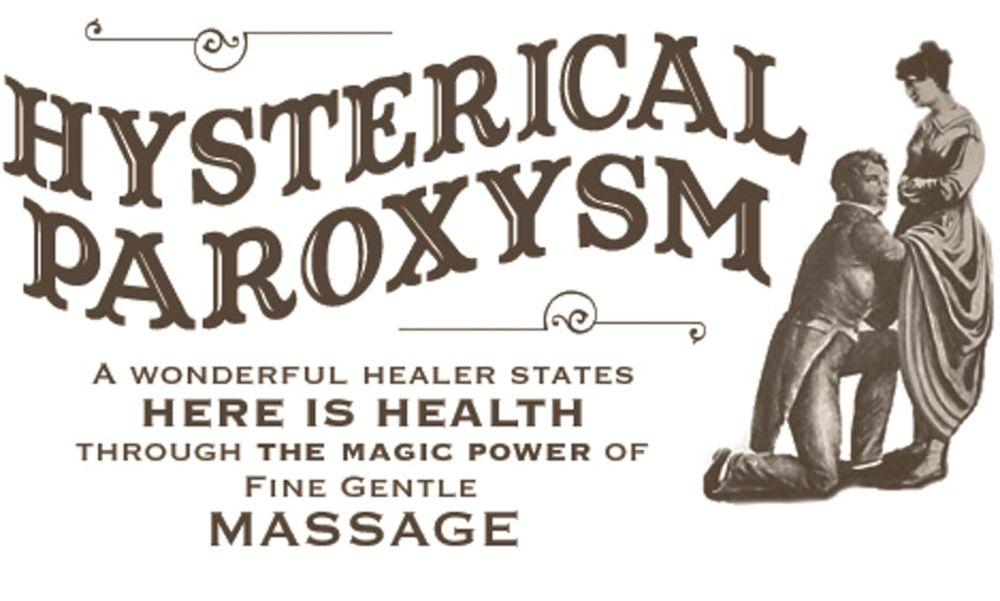 Hysteria treatment using vibrator