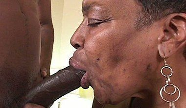 Black and fat hairy pussy