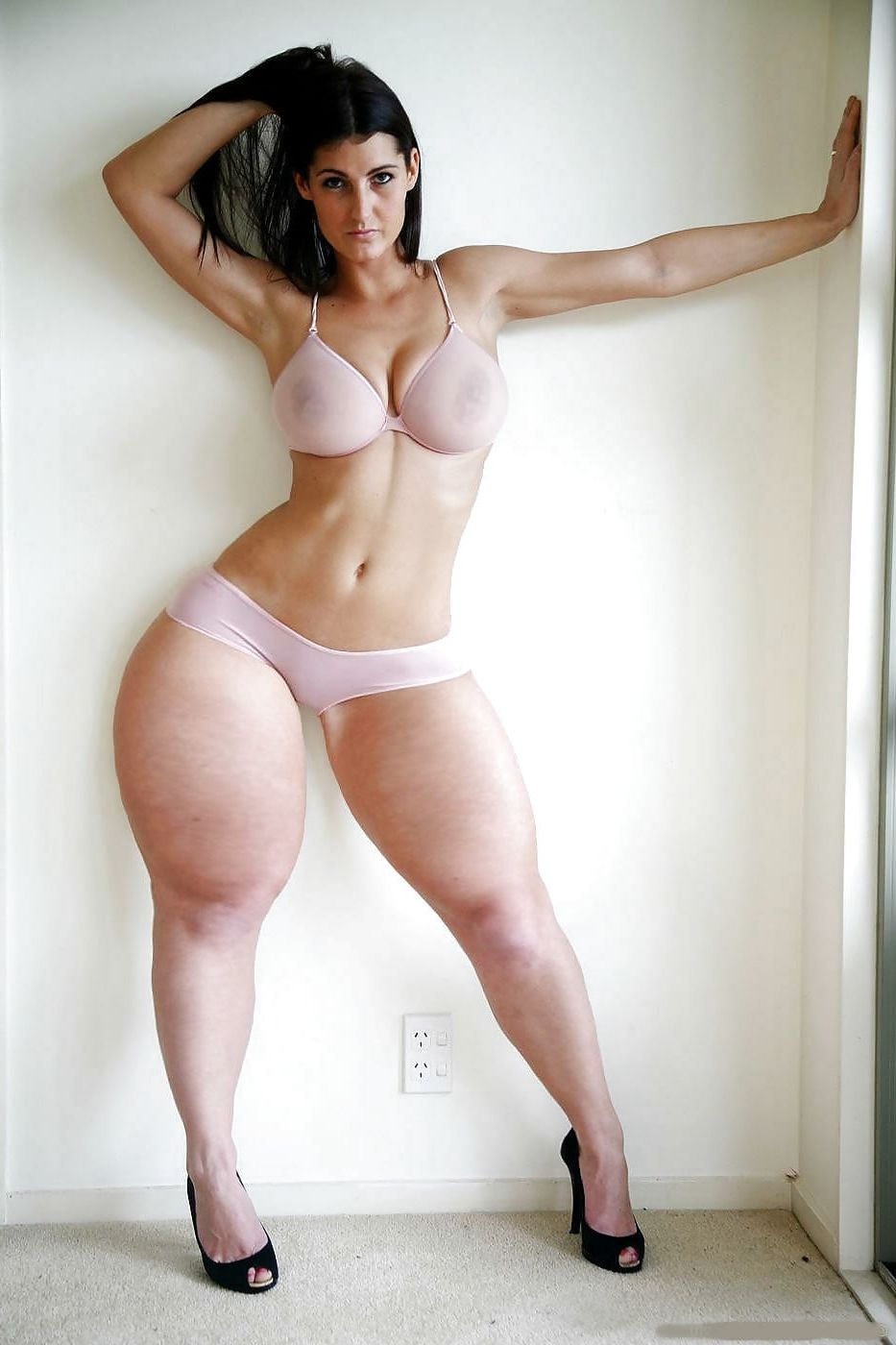 Thick sexy naked ass thighs