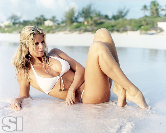 Rachel hunter sports illustrated swimsuit