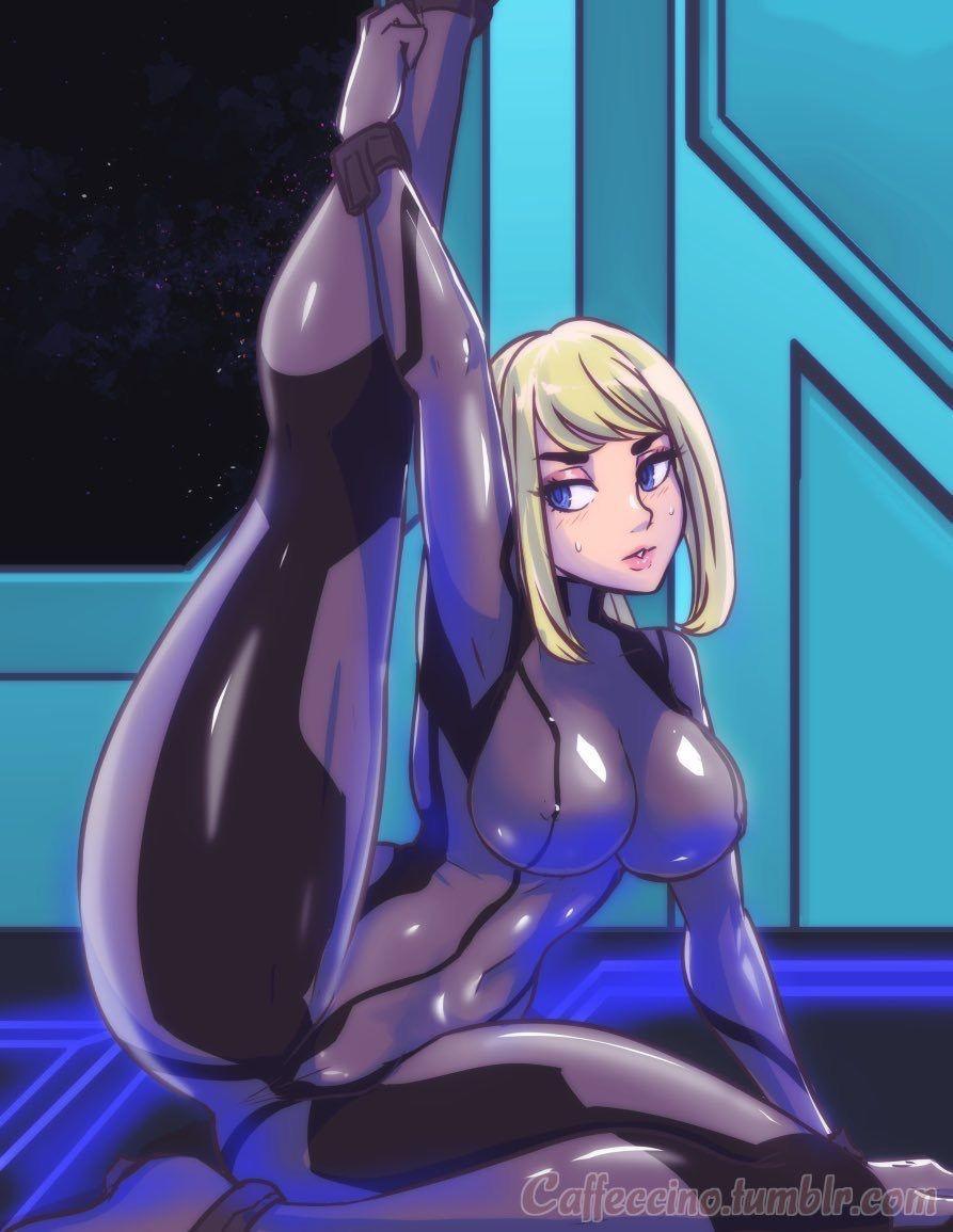 Samus aran zero suit hentai