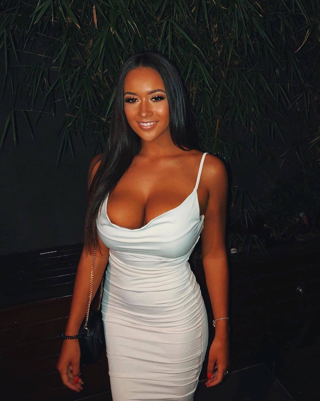 Tits in tight tops