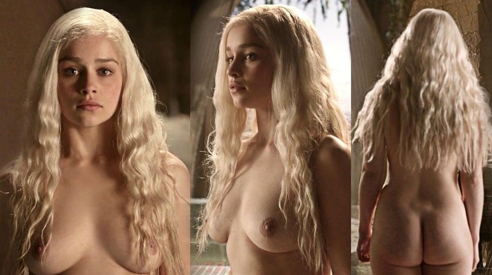 Game thrones emilia clarke nude