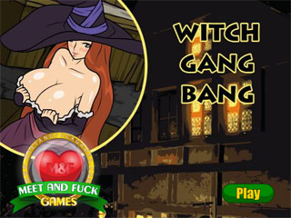 Witch fuck gang bang