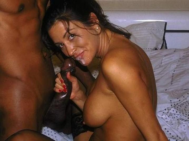 Cock big black shot cum wife amateur