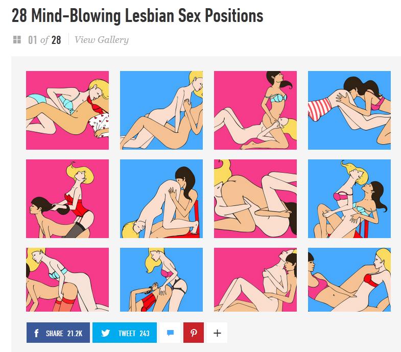 Lesbian sex positions cosmopolitan