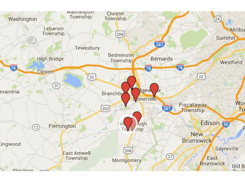 Sex offender google map