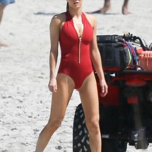 Slingshot bikini suspender nude