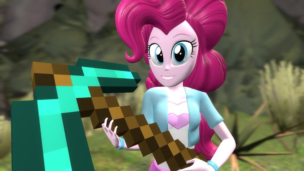 Pinkie pie creeper minecraft
