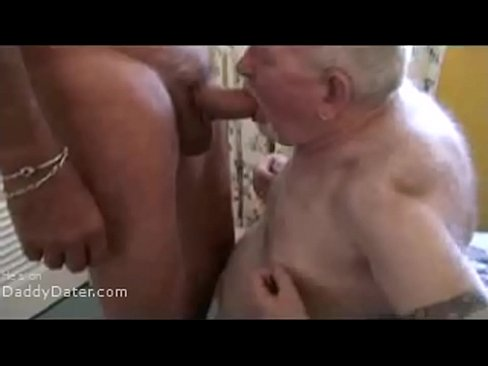 Grandpa big hairy cock