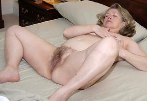 Nude hairy snatch grannies