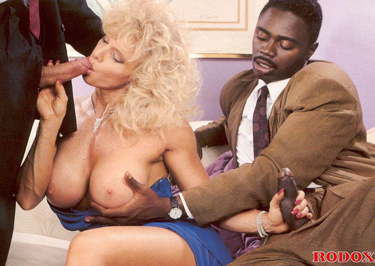Vintage retro interracial sex
