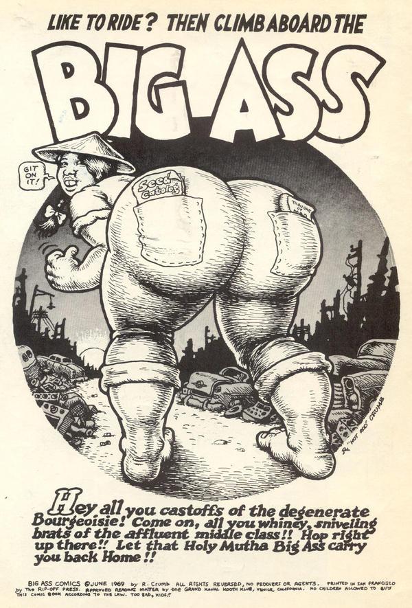 Big ass porn comics