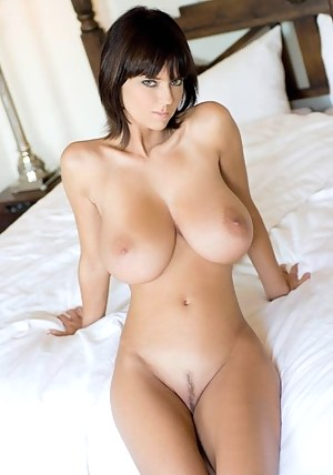 Big nipples trimmed pussy