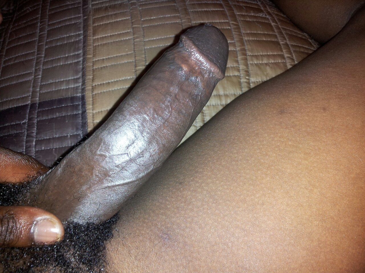 Big black real dick