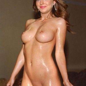 Women making breakfast nude