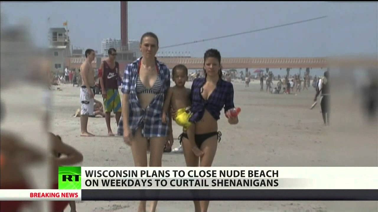 Nude sex on beach