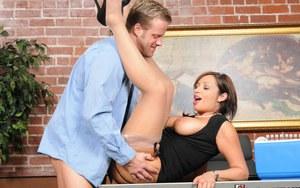 Big boobs play boy