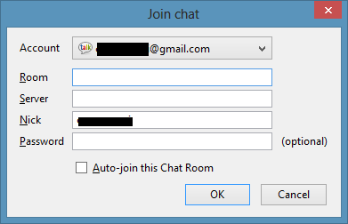 Join a chat room