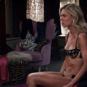 Sexy blonde panties sex