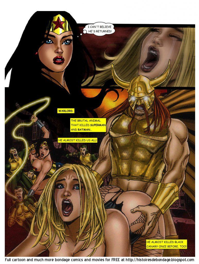 Black canary porn comic