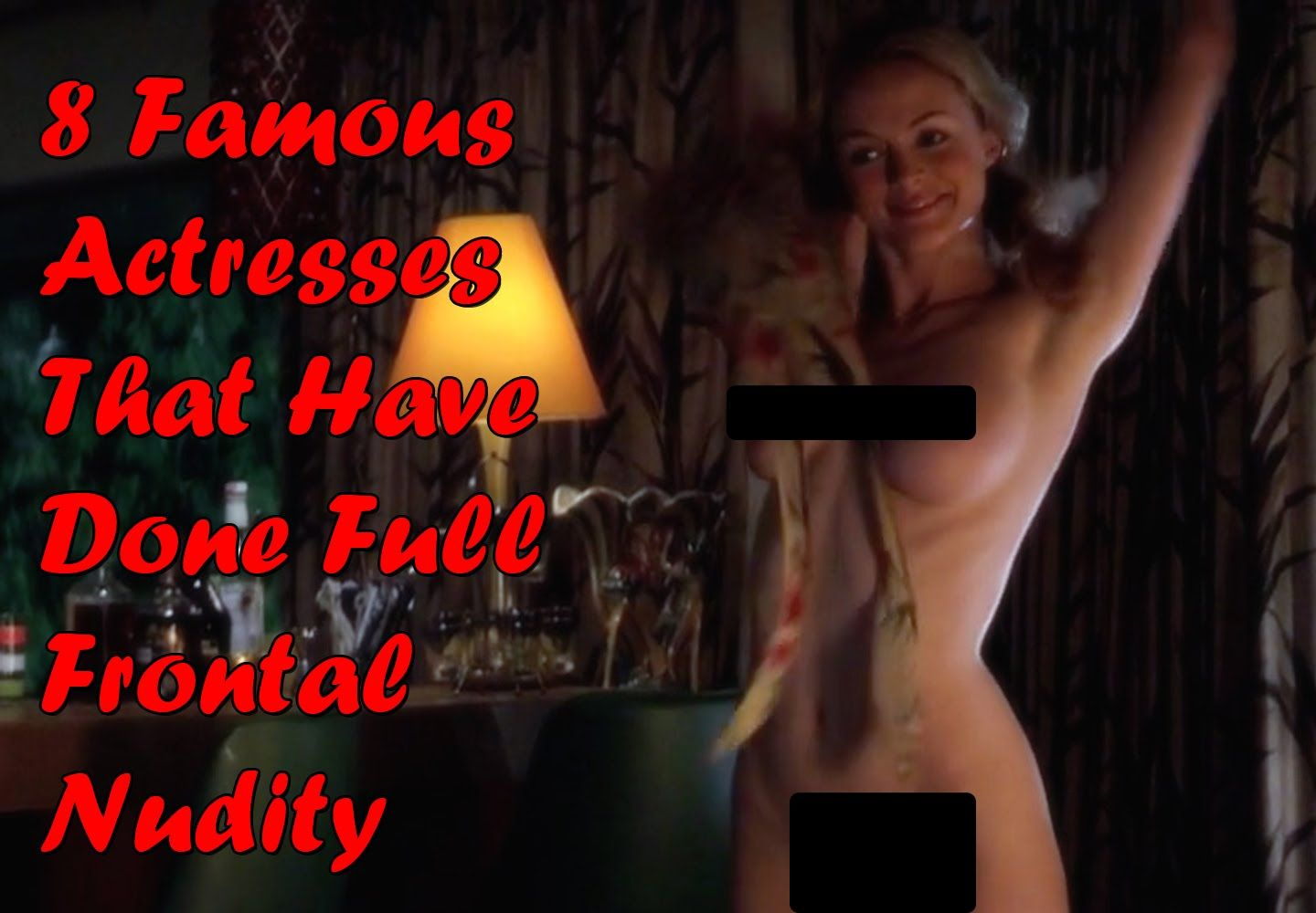 Actress full frontal nude