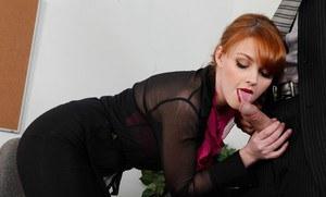 Elegant mature lingerie stockings