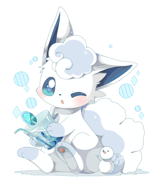 Vulpix from pokemon naked