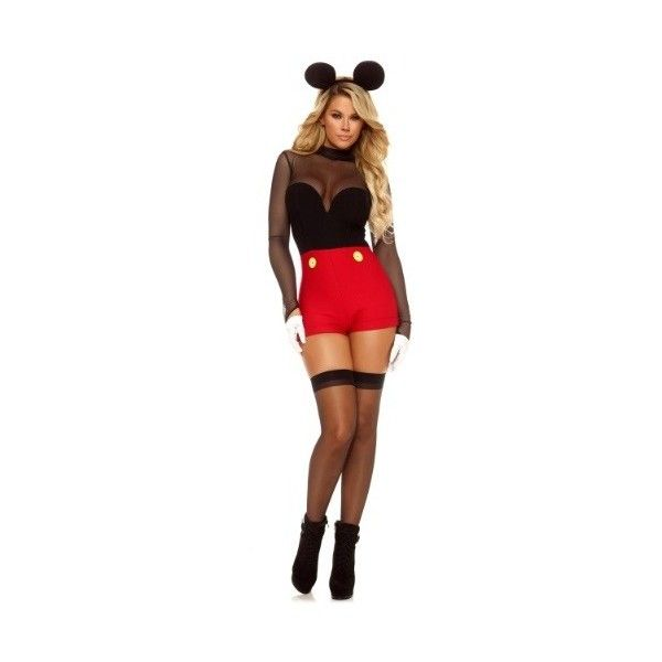 Mickey mouse halloween costume women sexy