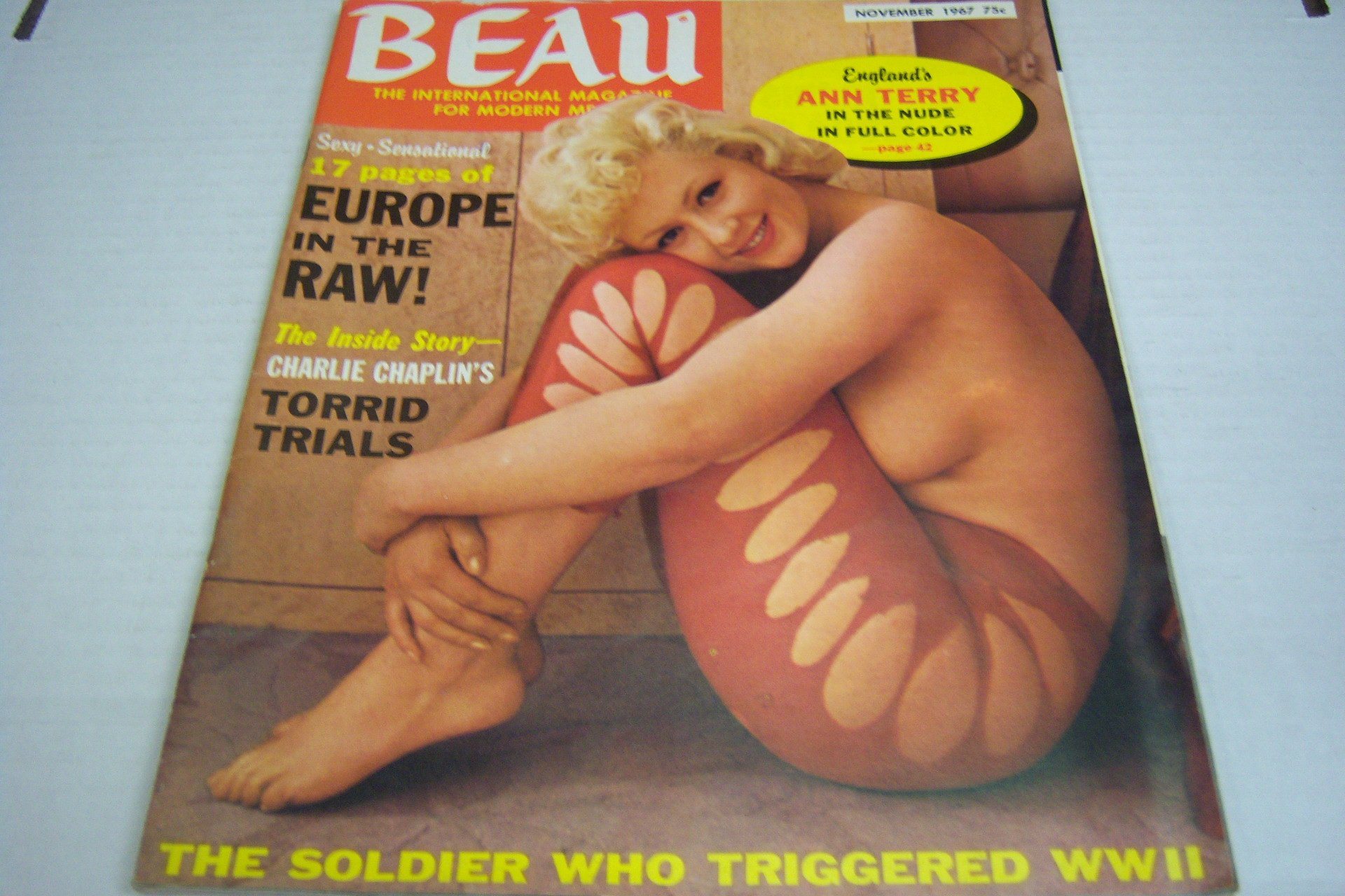 Vintage magazine nude european