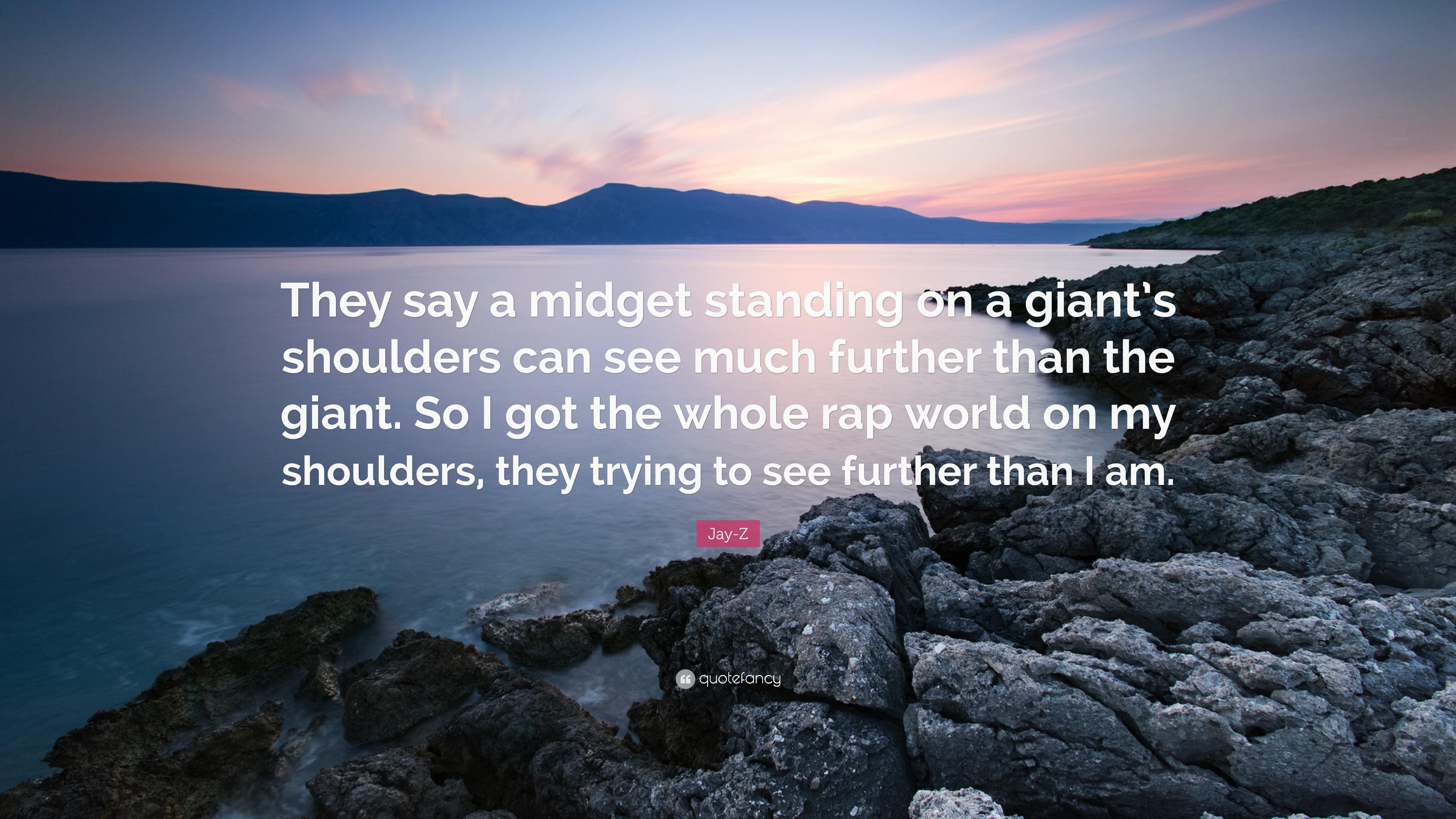 On midget shoulders lyrics standing jayzee