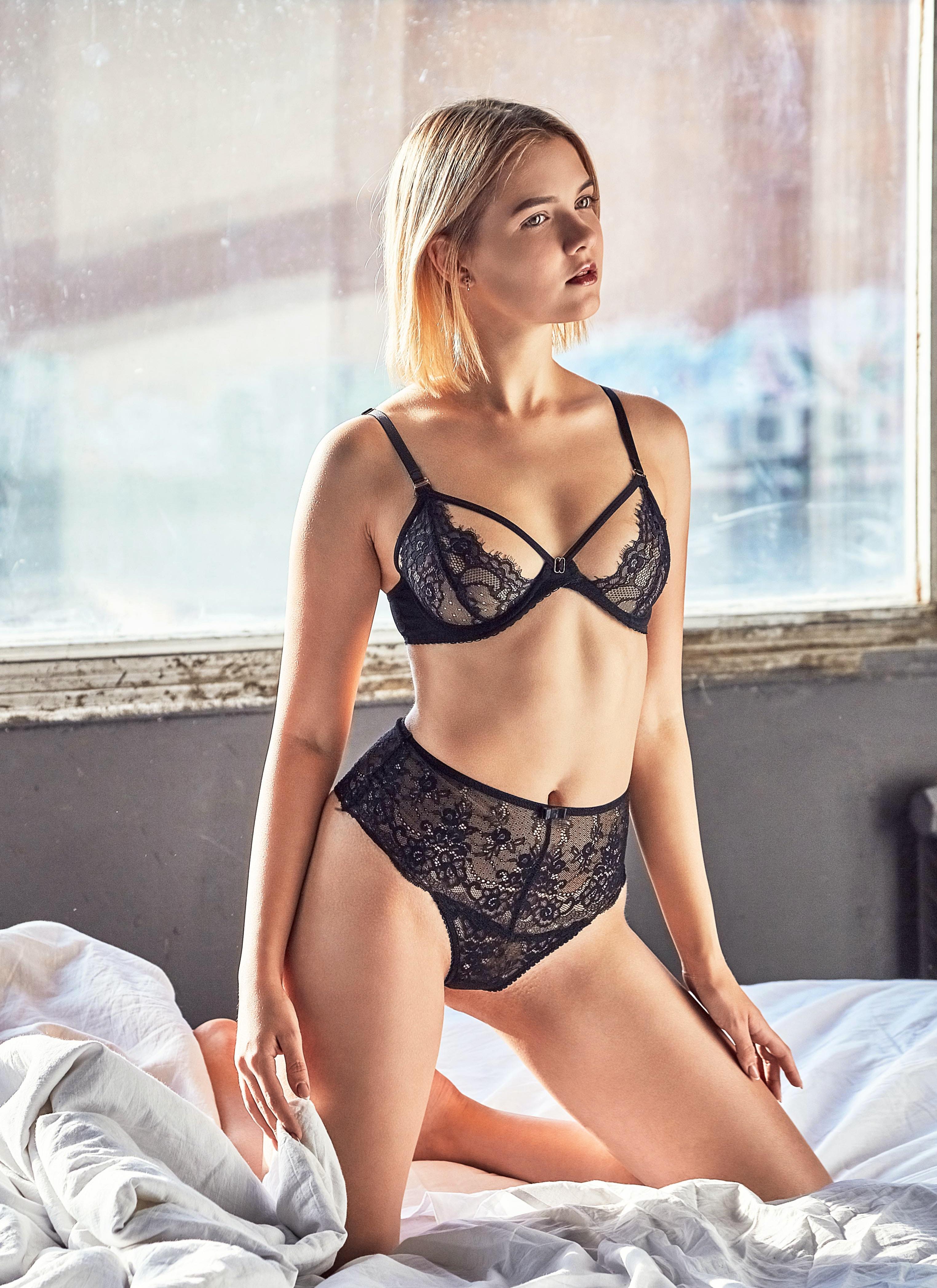 Sexy girls self pic underwear